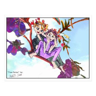 Tree Fairies 1 Postcard
