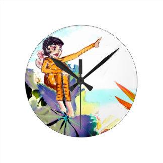 Tree Fairies - Wall clock