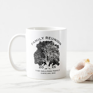 Tree Family Reunion Keepsake Personalized Coffee Mug