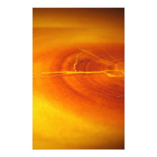 Tree Fire Rings Personalized Stationery