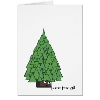 tree for all greetings! card