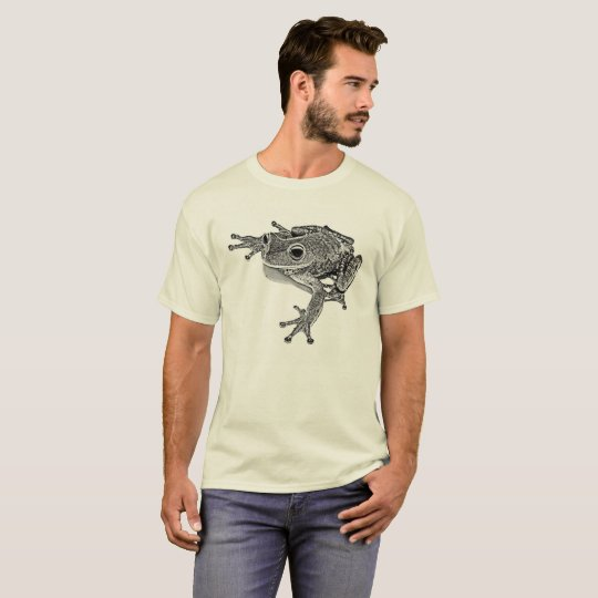Tree frog 08 - WB T-Shirt