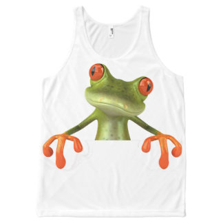 TREE FROG All-Over-Print TANK TOP