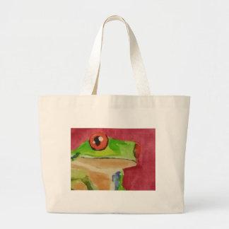 Tree Frog Jumbo Tote Bag