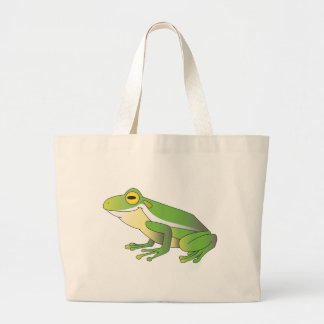 TREE FROG CANVAS BAG