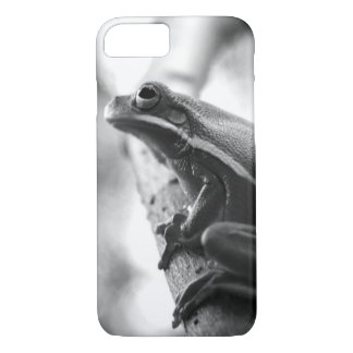 Tree Frog - Black and White iPhone 7 Case