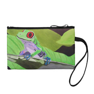Tree Frog Clutch Coin Wallet