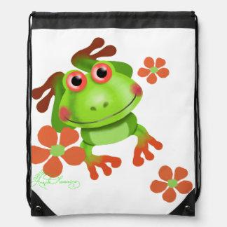 Tree Frog Cute Funny Cinch Bags