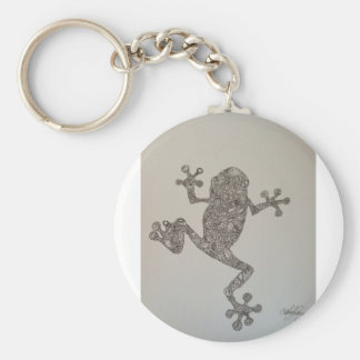 Tree Frog design Keychain