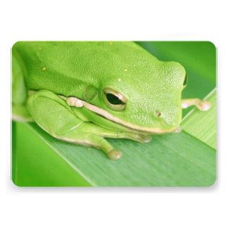 Tree Frog Custom Invitation