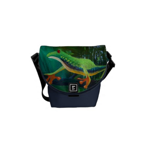 Tree Frog Jungle Rains II Courier Bags