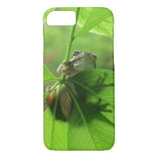 Tree Frog Leaf Shadows iPhone 8/7 Case
