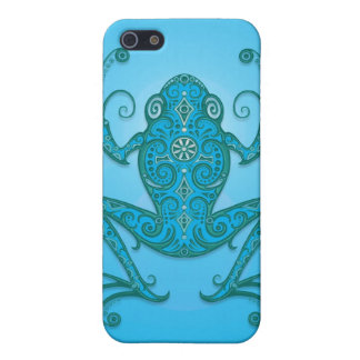 Tree Frog – light blue Case For The iPhone 5