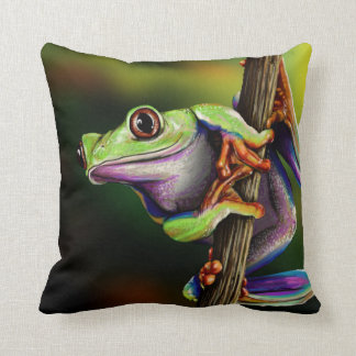 Tree Frog - Live the Wild Life / Pillow