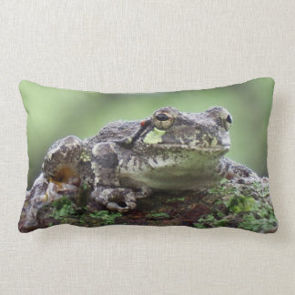 Tree Frog Lumbar Pillow
