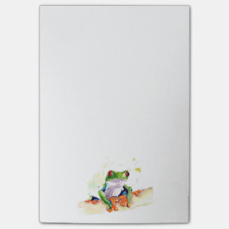Tree Frog Post-it Notes
