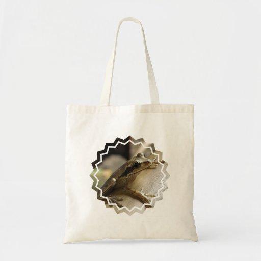 Tree Frog Small Canvas Bag