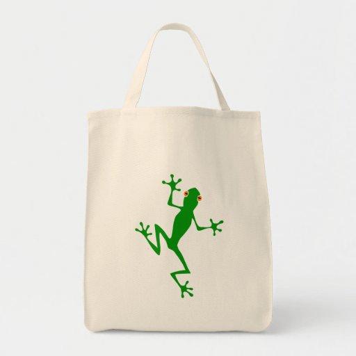Tree frog tree frog canvas bag
