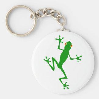Tree frog tree frog key chain