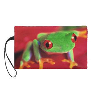 tree frog wristlet wallet