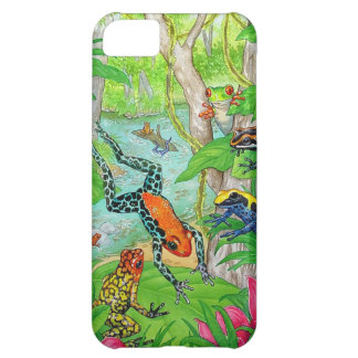 Tree Frogs Frolic iPhone 5C Cases