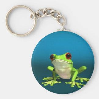 tree frogs keychain