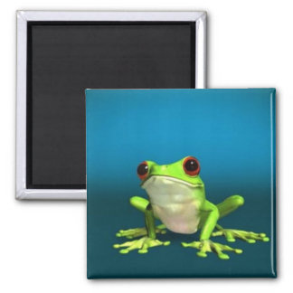 tree frogs magnet