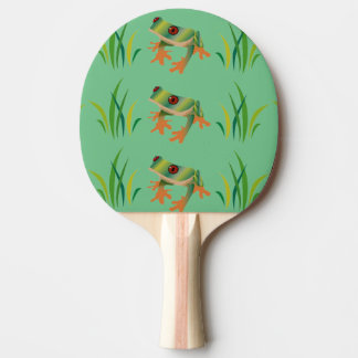 Tree Frogs on Ping Pong Paddles Ping-Pong Paddle