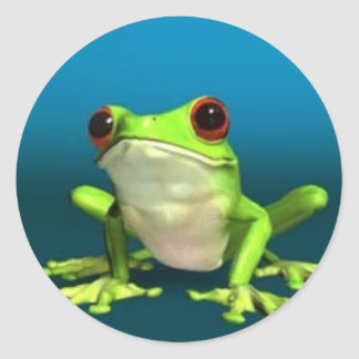 tree frogs sticker