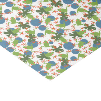 Tree Frogs Tissue Paper
