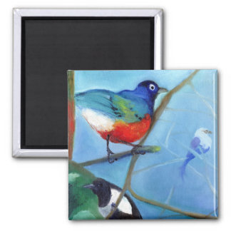 Tree Full of Birds 2012 Magnet