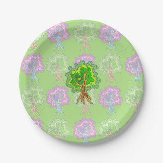 Tree (G) Paper Plate