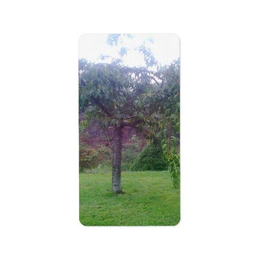 Tree Garden Custom Address Label