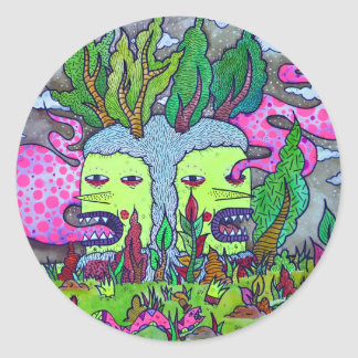 Tree Goblin Classic Round Sticker
