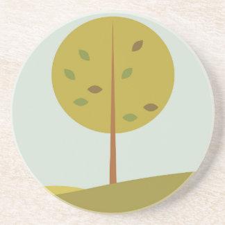 Tree green original edition coaster