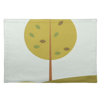 Tree green original edition placemat