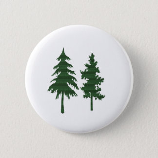 TREE Green Wild Environment Jungle Wood NVN712 2 Inch Round Button