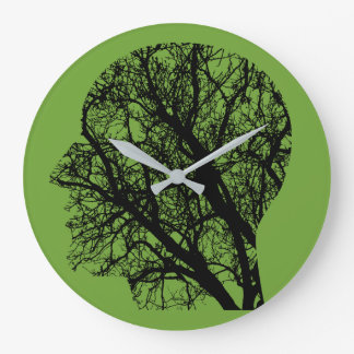 Tree head large clock