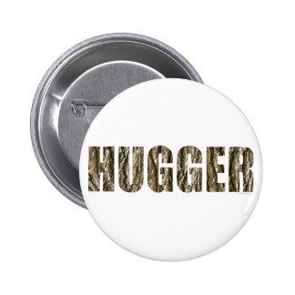 Tree Hugger 2 Inch Round Button