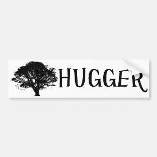Tree Hugger Bumper Sticker Car Bumper Sticker