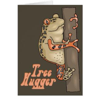 Tree Hugger Card