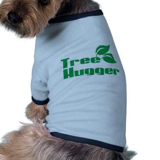 Tree Hugger Doggie T Shirt