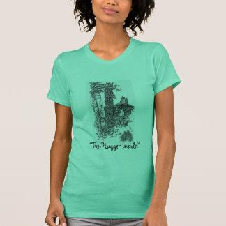 """TREE-HUGGER INSIDE!"" T-shirt"