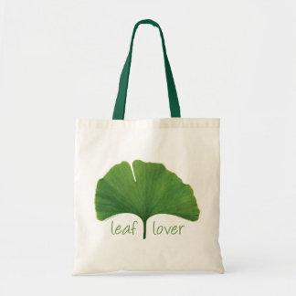Tree Hugger, Leaf Lover - Ginkgo Budget Tote Bag
