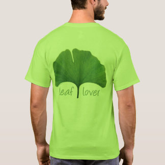 Tree Hugger, Leaf Lover Ginkgo Leaf Eco T-Shirt