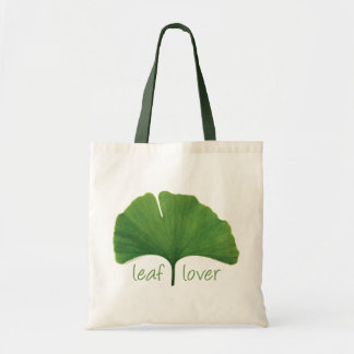 Tree Hugger, Leaf Lover - Ginkgo Tote Bag