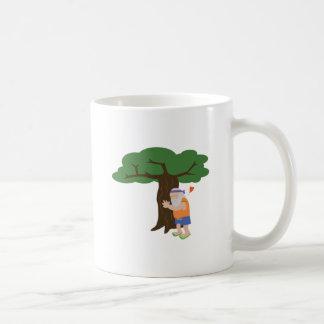 Tree Hugger Man Coffee Mug