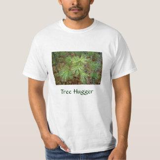 Tree Hugger Mens Tshirt