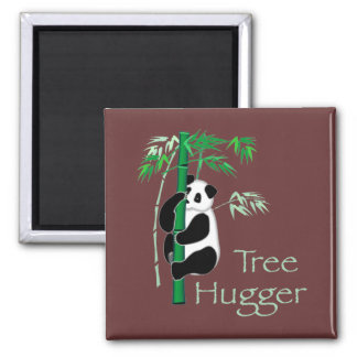 Tree Hugger Panda Magnet