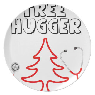 Tree Hugger Plate